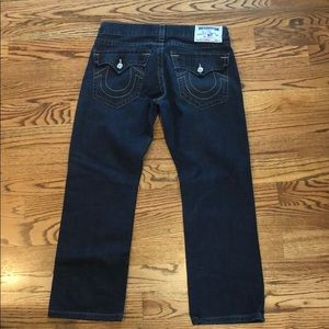 Men's True Religion Jeans Blue 36 W 32 L Straight